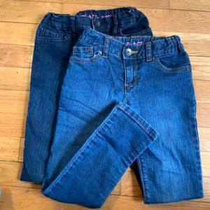 Girls Jeans-2pairs